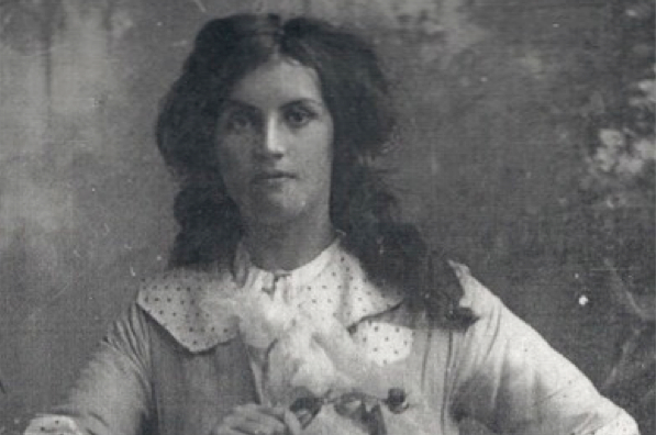 Hannah McKenna, around 1914