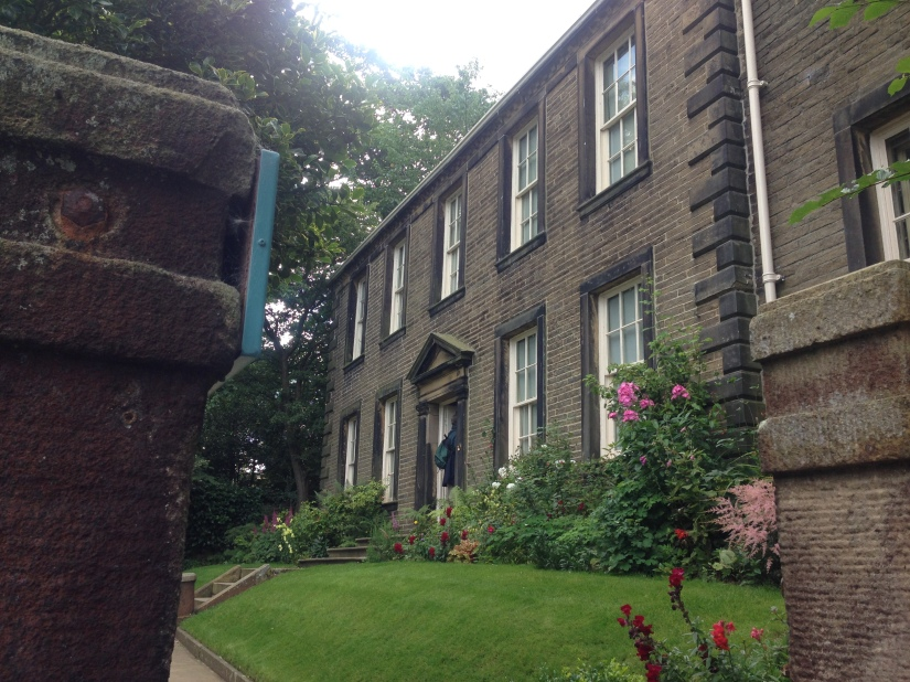 The Brontë parsonage. Photo copyright: Marése O'Sullivan.