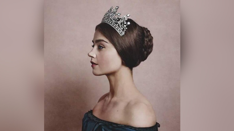 Jenna Coleman as Queen Victoria. Image courtesy of ITV.